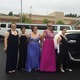 TMHS Seniors Emma Hyberts, Rachel Santosuosso, Valerie Fischer, Kate Roche and Stephanie Dardonis prepare to head to the prom in style.