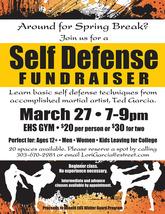 Medium self defense fundraiser