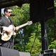 John Pizzarelli played two sets on the Orchard Stage at this years Wine  Jazz Festival at Longwood Gardens