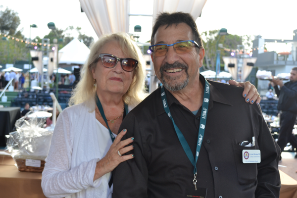 Angela and Les Silverman of Look! Optometry. Photo credit: Jeanne Fratello for DigMB
