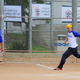 Meadows team member Billy Baker scores a run in the championship game against American Martyrs School..