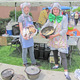 Bethany Haskell and Brynn Gale served everything cheese-related at their booth during the 25th and final annual Dutch Oven Cook-off this May at Riverview Junior High. Photo courtesy of Julie Slama
