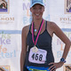 Jennifer Shaw, first mom finisher