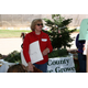 Dee Kobervig, president of the El Dorado County Christmas Tree Growers Association