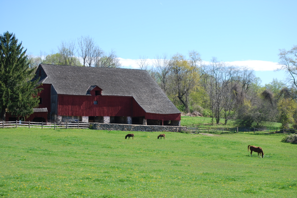 The hills and agricultural heritage surrounding the Borough of Kennett Square add to the region's charms.