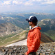 Jake Castle takes in the views from the summit of Grays Peak  Photo courtesy Jake Castle