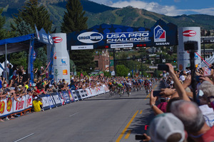 Top cyclists from around the world compete in the USA Pro Challenge  Photo by Aryeh Copa