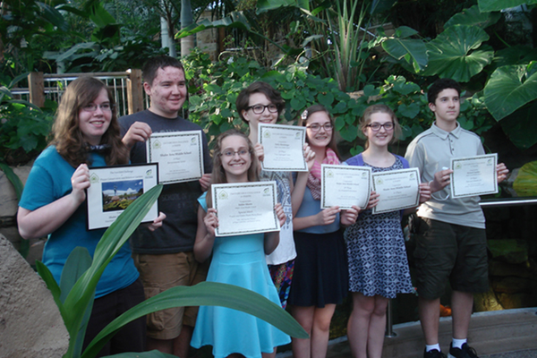Shaler Area Middle School Wins First In Fairchild Challenge at Phipps