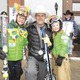 Alden, Jon & Neve Wade celebrate the 199th Winter Carnival at the street events.