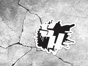 Medium freebie psd sticker mockup by dweinhardt