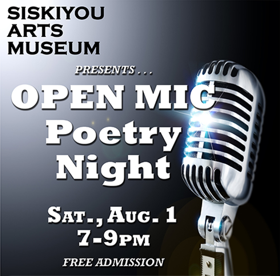 Open mic poetry web