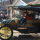 Tom and Ruth Marshall take the 1910 Stanley Touring Car Model 71 out for a tour.