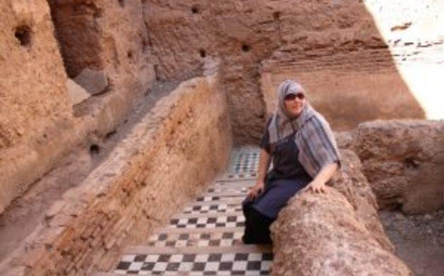 Amanda in Morocco
