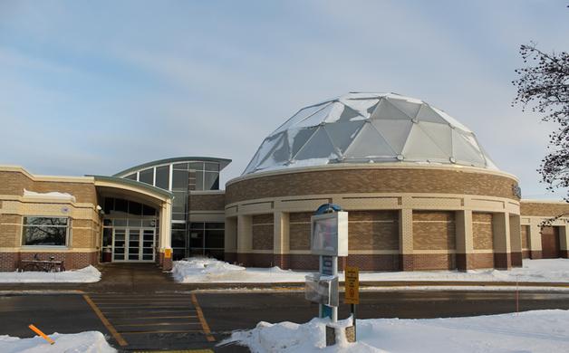 Barlow Planetarium Exterior
