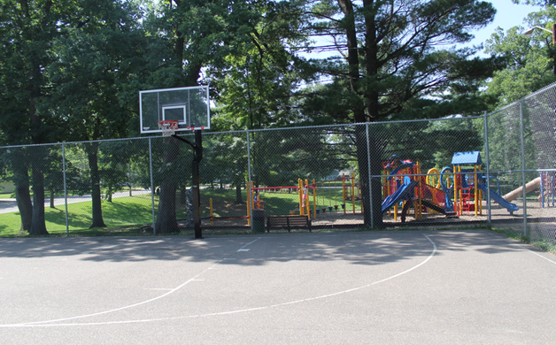 Basketball Courts at Bowman Park