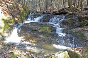 Medium slade brook falls.
