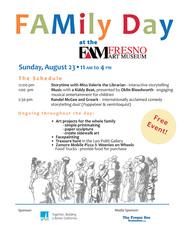 Medium family day flyer
