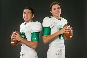 Mason Holmes and Montana Murphy will both see action in week one against Austin Westlake