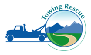 Medium towing rescue logo