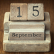 Does September have the wrong name - Aug 31 2015 1133AM