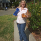 Cornbread competition winner Kathy Jurgens