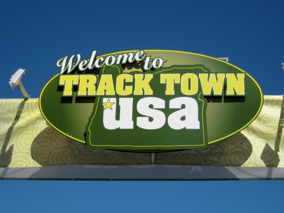 Welcome to track town usa