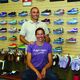 Aaron and Andrea Samansky are the owners of Fleet Feet Fresno, one of the area's first specialty running stores. Photo by Dan Minkler