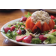 The Chicken and Walnut Stuffed Tomato Salad