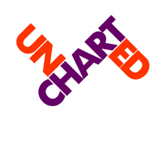Uncharted logo with tag and date 20copy