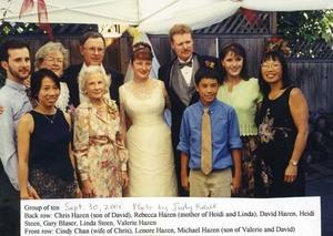 Heidi Kirsten Steen and Gary Lee Blaser Portland OR Sept 30 2001