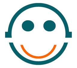 Medium ardent logo orange smile