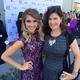 Anna Richey on the red carpet with her aunt Tricia Reynolds at the NO BULL Teen Video Awards at YouTube Space LA. Richey emerged this year, getting recognized multiple times after producing highly successful songs. Photo courtesy Anna Richey