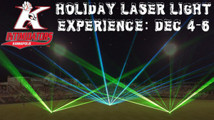 Intimidators Holiday Laser Light Experience - start Dec 04 2015 0500PM