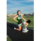 2015 Dragon Cheer Co-Captain Chloe Dwyer. Photo by S. Johnson/SnappedDragons.com