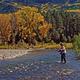 Fall fishing near Pagosa Springs, CO