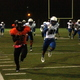 Osseo running back Prince Kruah runs for a 68 yard touchdown in the second quarter against Hopkins