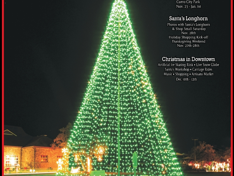 christmas in the park present by the city of cuero and the cuero development corporation - When Does Christmas In The Park Open