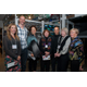 AAM Craft Show Award Winners Ann Marie Cianciolo, Robert Hessler, Mina Norton, Cynthia Alderdice, Emilio Santini, Lois Mansfield, and Boots Michalak, honorary chair
