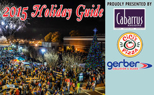 2015 Cabarrus Magazine Holiday Guide Presented by CiCis Pizza Gerber Collision  Glass - Nov 16 2015 1056AM