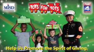 Mansfield ISD 4th Annual Toys for Tots - start Dec 09 2015 0500PM
