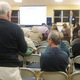 A resident asks a question at the PennDOT meeting on Nov 17
