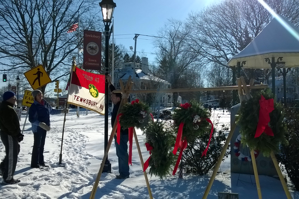Boy Scout Troop 47 Wreath Sale.