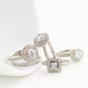 Anne Sportun Diamond Rings $1,200-$4,500 at Talisman Collection, 4357 Town Center Boulevard, Suite 118, El Dorado Hills. 916-358-5683, talismancollection.com