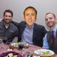 Nathan Carlson, Nick Cage and Derek La Crone