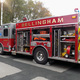 One of the fire trucks