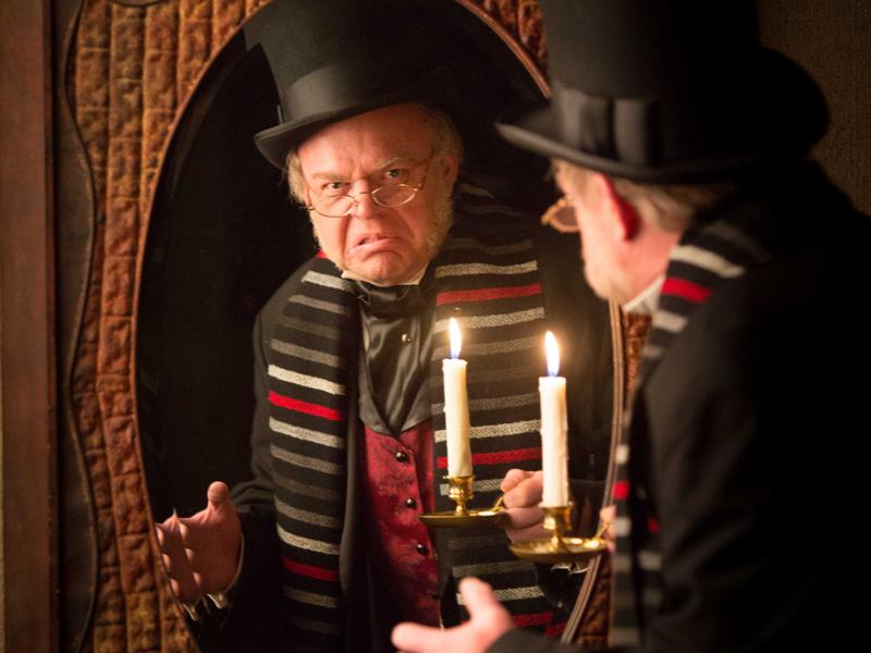Spirit Of Christmas Past Costume.Hale Centre Theatre Rejuvenates The Spirit Of Christmas With