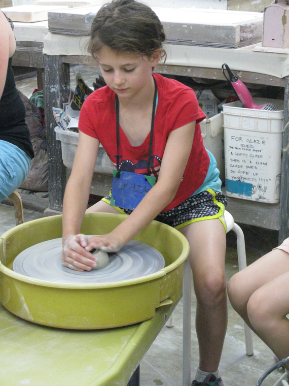 Kids pottery classes chester springs studio