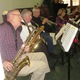 Former West Chester mayor Tom Chambers plays sax for the Grateful Alive.