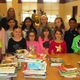 Students sorted donated books toys and other items at Chadds Ford Elementary School