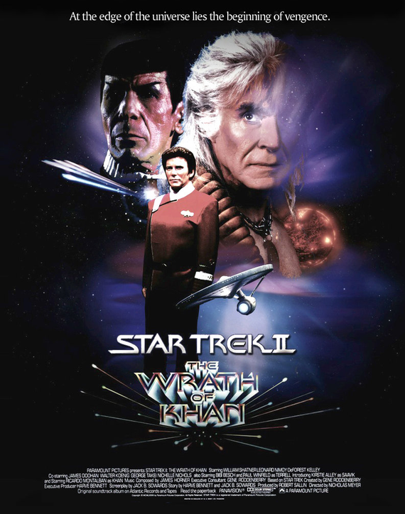 Star trek 2 the wrath of khan poster by tanman1 d57gd23